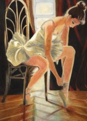 Bailarina en una tarde de verano